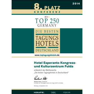 2014_Business_8. Platz Konferenz